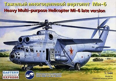EASTERN EXPRESS 14507 - Soviet Heavy Military Helicopter Mi-6 (late)/ Satz 1:144