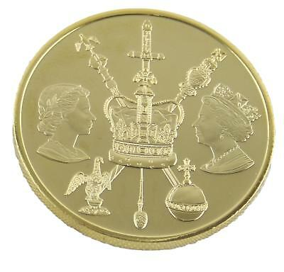Royal Mint Queen Elizabeth II Diamond Jubilee 2012 Medal