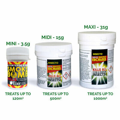 Bed Bug Killer, Smoke Bomb, Insecticide Fumigator, Fumer, Moth Insect Poison