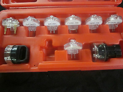 DELUXE ELECTRONIC FUEL INJECTION 9pc TEST LIGHT SET ( NOID ) 4 FORD GM BOSCH ETC