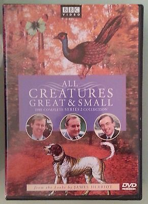 bbc  ALL CREATURES GREAT & SMALL the complete series 2 collection   DVD