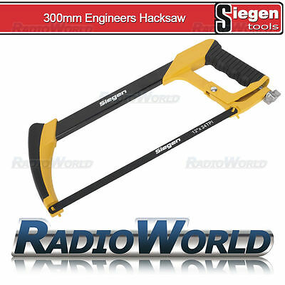"Sealey Siegen 300mm 12"" Heavy Duty Engineers Hack Saw Garage DIY Tool Blade"