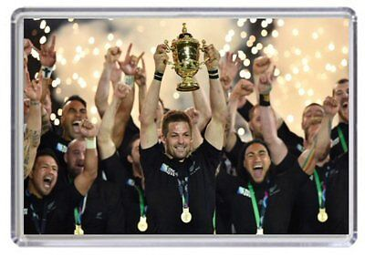 New Zealand All Blacks Rugby World Cup 2015 England Fridge Magnet 02
