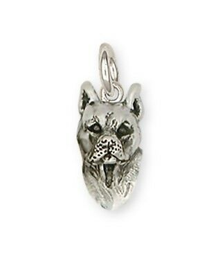 Pit Bull Charm Jewelry Sterling Silver  PT16-C