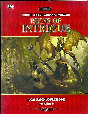 D20 Sword & Sorcery Monte Cook's Arcana Evolved Ruins Of Intrigue