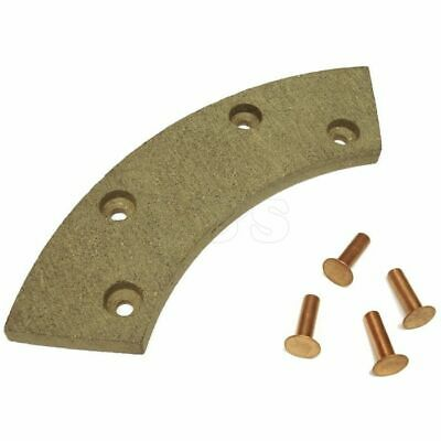 Single Brake Pad (Horseshoe Type) Fits Winget Thwaites Benford Dumpers - 1072A4