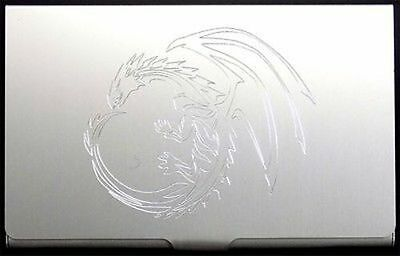 TREE OF LIFE Engraved Business ID Credit Card Case Patch Holder Gift BUS-0041