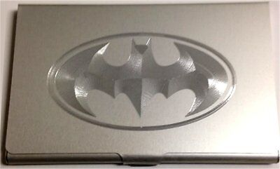 BATMAN Dark Knight QUALITY Engraved Business ID Credit Card Patch Case BUS-0266