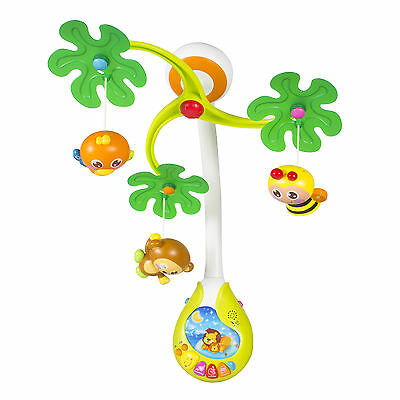 Musical Jungle Baby Mobile Multi Function With Lights & Music