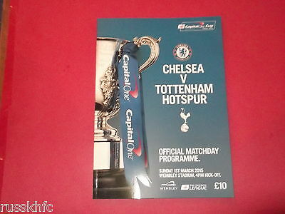 2015 Capital One Cup Final Chelsea V Tottenham