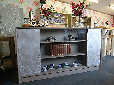 Beautiful Shabby Chic Bookcase Cabinet -Delivery Available