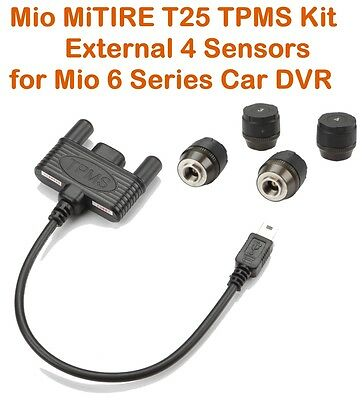Mio TPMS MiTIRE T25 External Tire Pressure Monitoring System for Mio 6 Car DVR