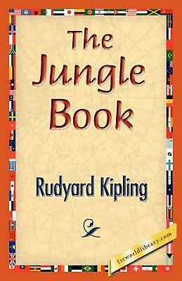 The Jungle Book by Rudyard Kipling (English) Paperback Book Free Shipping!