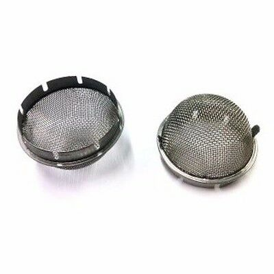 Weber 45 DCOE Velocity Stack Dome Air Filter Screens - 1 PAIR
