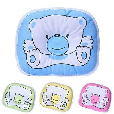 Newborn Infant Baby Support Head Soft Cotton Flat Sleeping Cushion Pillow New