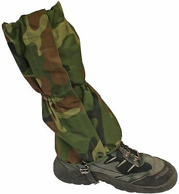 Military/Army Camouflage Waterproof Size 4-8 Walking/Hiking Gaiters Ladies/Kids