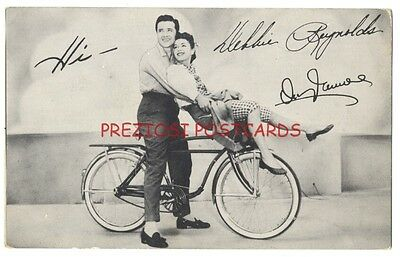 AMF ROADMASTER BICYCLE Ad - DEBBIE REYNOLDS, Vic Damone - MGM MOVIE Athena 1954