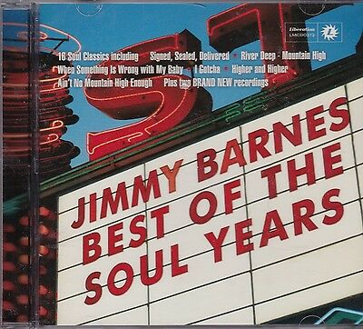 Jimmy Barnes - Best Of The Soul Years - Cd