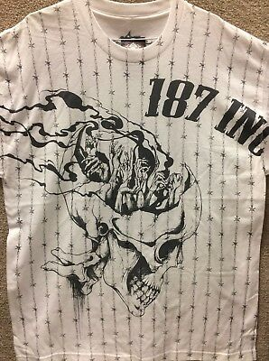 "187 Inc Men/'s T-shirt /""Double Pistols/"""