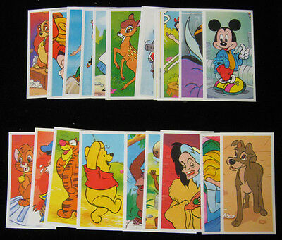 1989 Brook Bond The Magical World of Disney Set (25) Nm/Mt