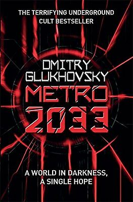 Metro 2033 by Omitry Glukhovsky New Paperback Book,