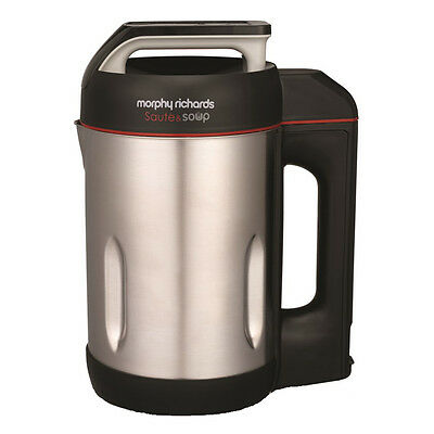 Morphy Richards 501014 Soup and Saute Maker 1.6L Capacity in Stainless Steel