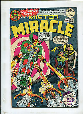 Mister Miracle #7 (8.0) Return Of Agent Axis! 1972
