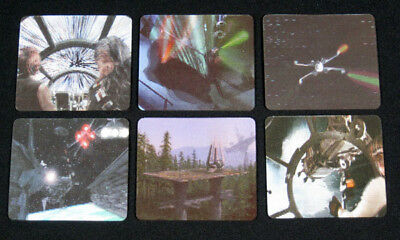 1997 Doritos Cheetos Star Wars Trilogy Lenticular Card Set (6) Nm/Mt