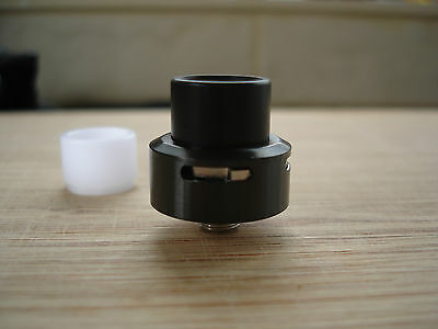 LowPro RDA in Black..tiny rda and a flavor beast, bottom feed squonk pin