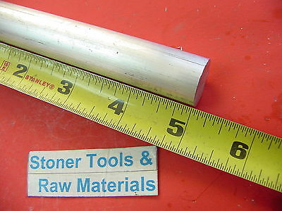 "3/4"" ALUMINUM 6061 ROUND ROD 5"" long Solid T6511 .750 Diameter Lathe Bar Stock"