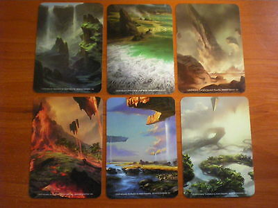6 x CARD DIVIDERS From Battle for Zendikar Holiday Gift Box Nm mtg