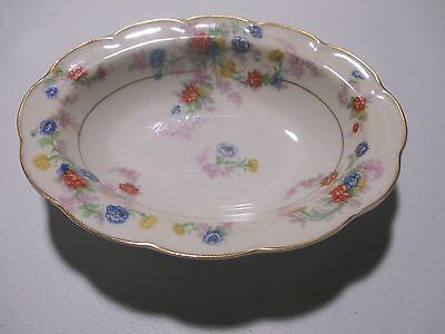 Theodore Haviland Limoges France Orleans Oval Vegetable Serving Bowl Floral