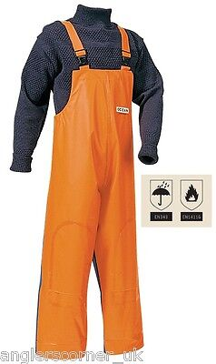 Ocean Off Shore Crewman / Bib & Brace Trousers / Work Wear / Fishing / 836-13