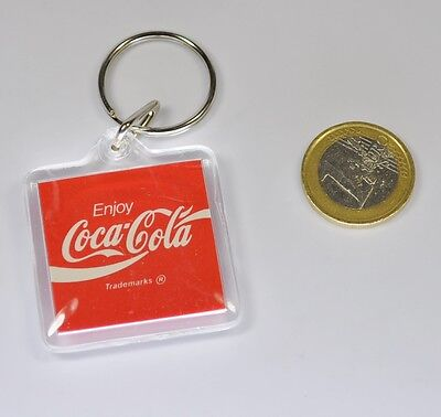 Coca-Cola USA Acryl Schlüsselanhänger Key Chain Enjoy Coke