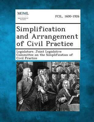 NEW Simplification and Arrangement of Civil Practice by Paperback Book (English)