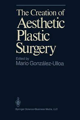 The Creation of Aesthetic Plastic Surgery by Gonzalez-Ulloa (English) Hardcover