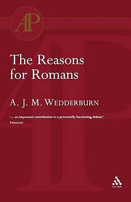 The Reasons for Romans by Alexander J.M. Wedderburn (English) Paperback Book Fre