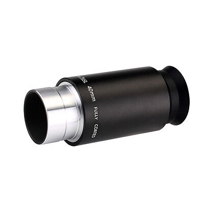 4-Element 40mm Plossl Telescope Eyepiece for Standard 1.25inch Astronomy Filters