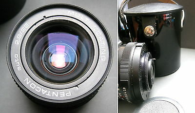 Lens Pentacon Car 2,8/29 Multi Coating with Quiver, M 42
