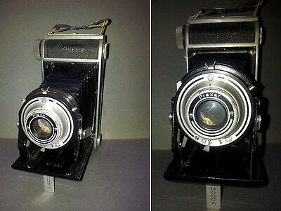 Folding Camera Norca with Lens Praxar from Brown Nürnberg