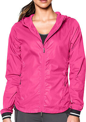 Under Armour Storm Layered Up Ladies Running Jacket - Pink
