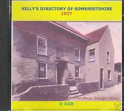 Genealogy Directory Of Somersetshire 1927 Cd Rom