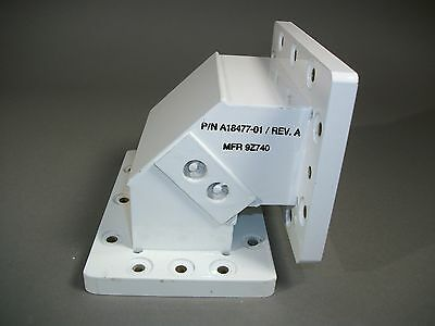 HNL Inc A18477-01 Waveguide WR-430 E-Bend Assembly - USED