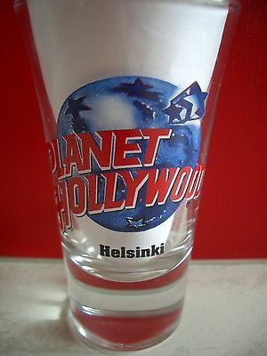Planet Hollywood Helsinki Shot Glass Shotglass Schnapsglas