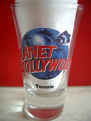 Planet Hollywood Toronto Shot Glass Shotglass Schnapsglas