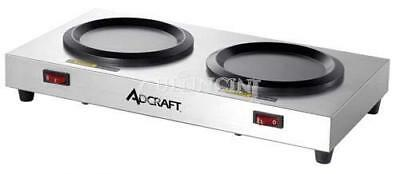 Adcraft Coffee Warmer Plate double station - WP-2