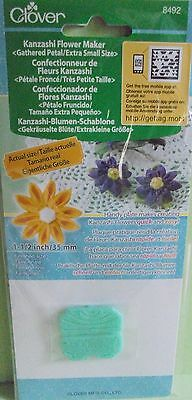 Clover Kanzashi Flower Maker Gathered Petal/extra Small Size 8492