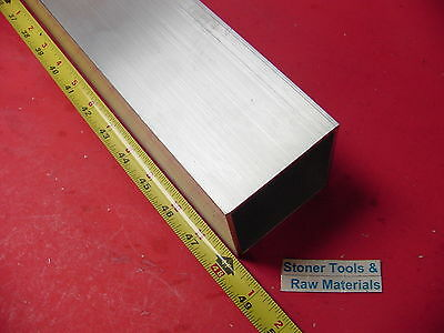"3""x 3""x 1/8"" Wall x 48"" Long ALUMINUM SQUARE TUBE 6063 T52 3"" SQ x .125"""