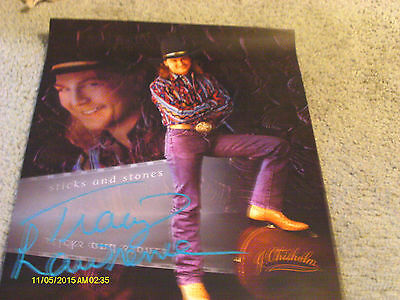 Vintage Tracy Lawrence Sticks And Stones Promo Poster