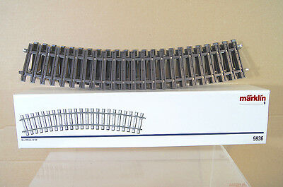 MARKLIN MäRKLIN MAXI 5936 G GAUGE SPUR 1 CURVED TRACK 1176mm RADIUS 22 DEGREES n
